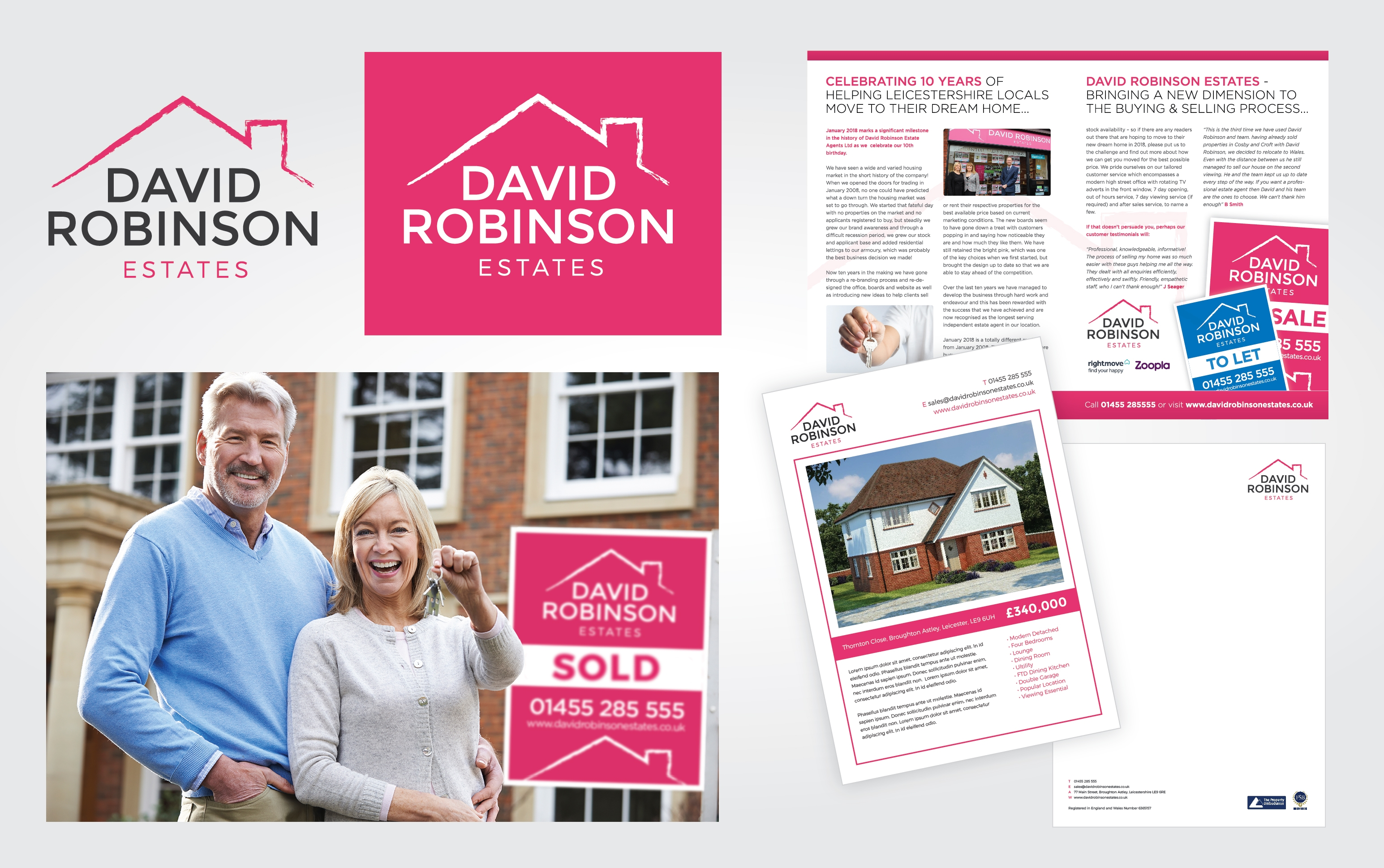 David Robinson Estates Re-brand